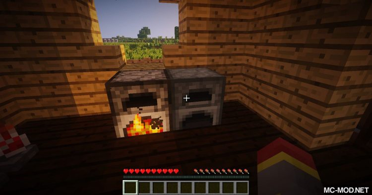Simple Furnace mod for Minecraft (2)