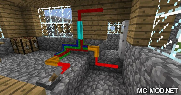 SimpleLogic Wires mod for minecraft 01
