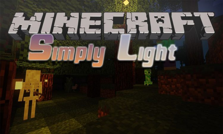 Simply Light mod for Minecraft logo