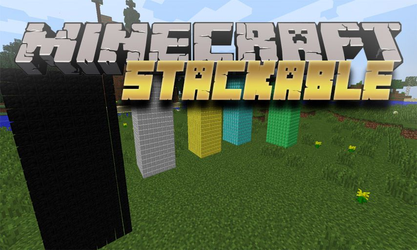 Stackable mod for Minecraft logo