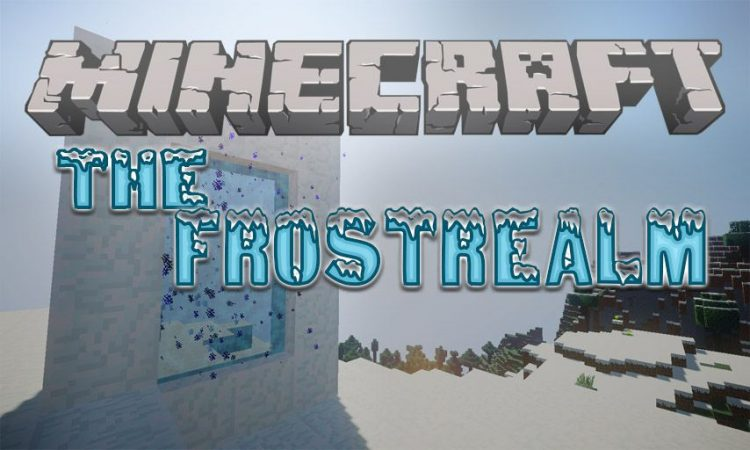 The Frostrealm mod for Minecraft logo