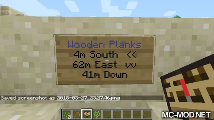 The Minecraft Guideposts Mod for minecraft 05