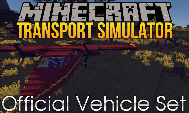 Transport Simulator Official Vehicle Set mod for minecraft logo