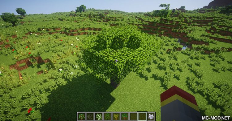 Trees of Stages mod for Minecraft (2)