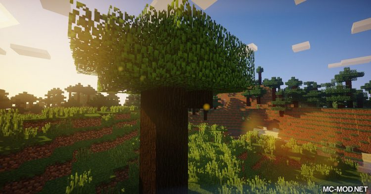 Trees of Stages mod for Minecraft (8)