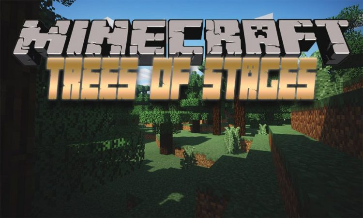 Trees of Stages mod for Minecraft logo