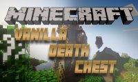 VanillaDeathChest mod for Minecraft logo