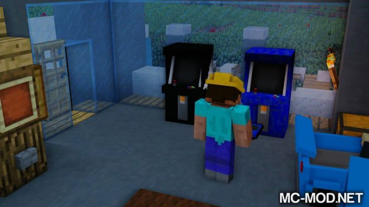 Arcade mod for minecraft 05