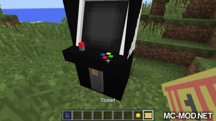 Arcade mod for minecraft 07