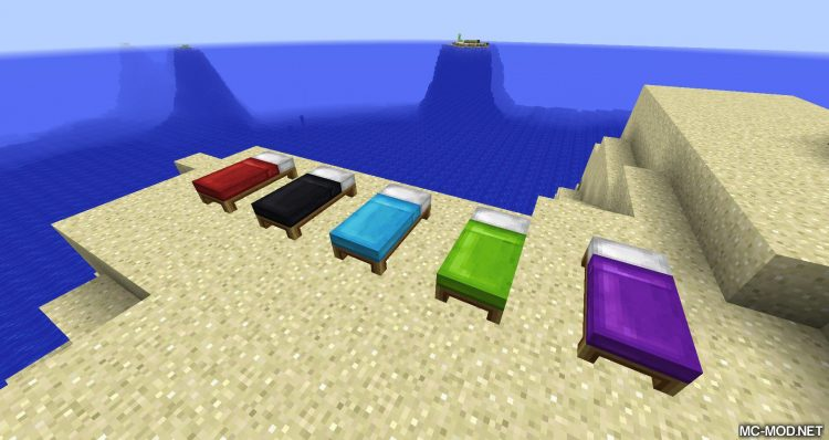 Bed Patch mod for minecraft 03