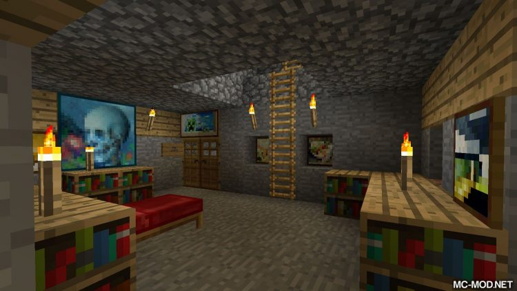Bed Patch mod for minecraft 05