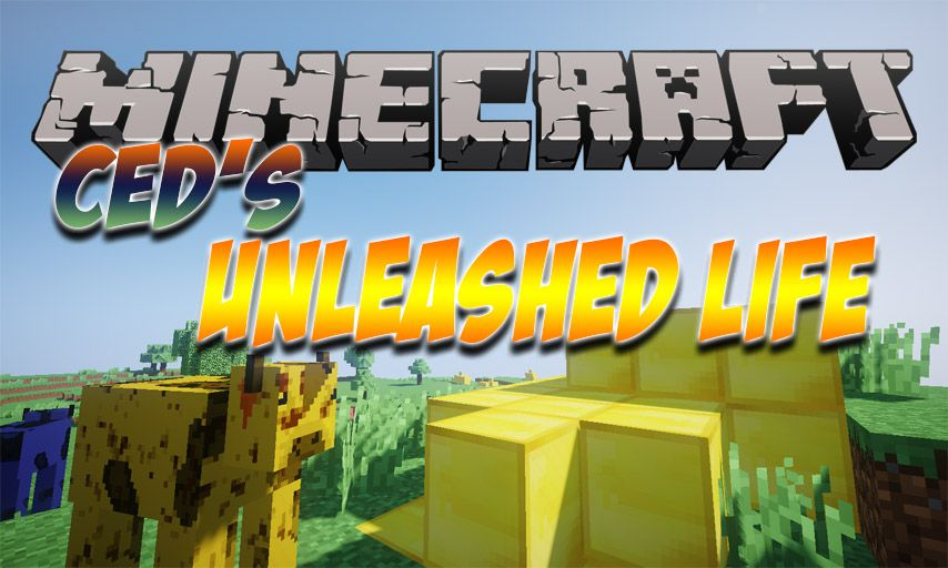 Ced_s Unleashed Life mod for Minecraft logo