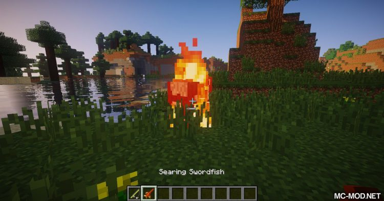 Combustive Fishing mod for Minecraft (14)