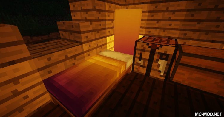Cosmetic Beds mod for Minecraft (13)