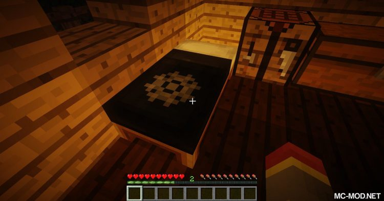 Cosmetic Beds mod for Minecraft (6)