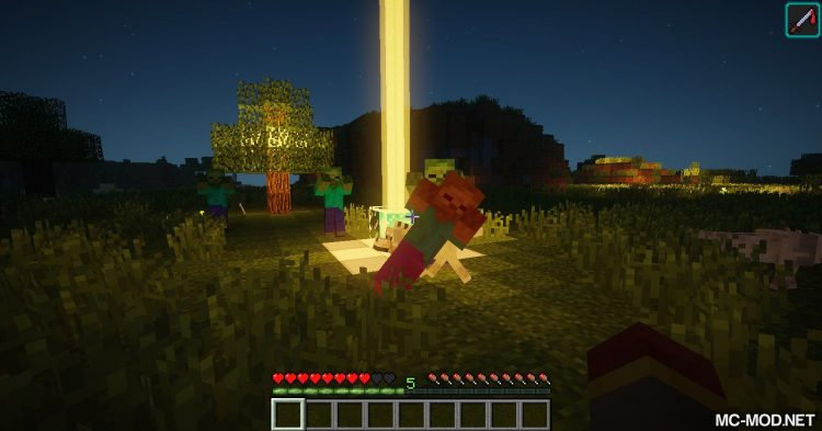 Creatures Love Beacons mod for Minecraft (8)