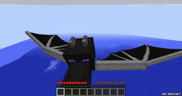 Dragon Wings Elytra mod for minecraft 01