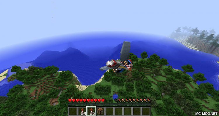 Dragon Wings Elytra mod for minecraft 06