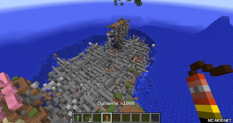 Even More Explosives mod for minecraft 12