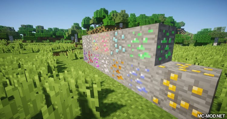 Extended Items and Ores Mod mod for Minecraft (28)