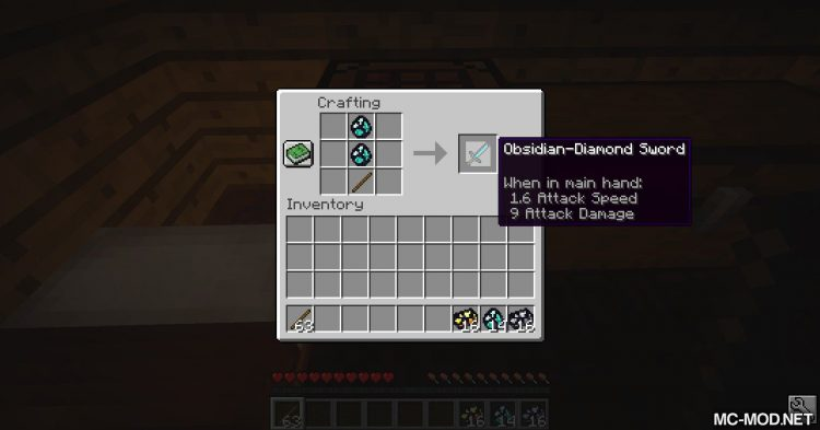Immortal Obsidian mod for Minecraft (8)