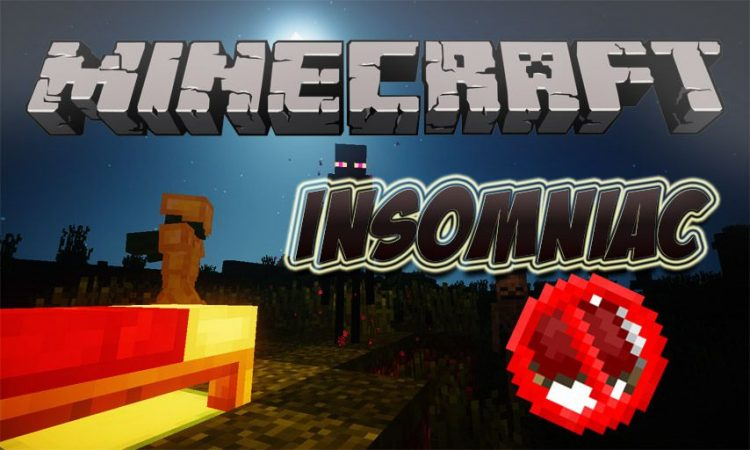 Insomniac mod for Minecraft logo
