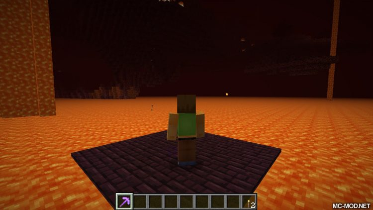 Nether Utils mod for minecraft 01