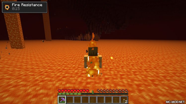 Nether Utils mod for minecraft 02