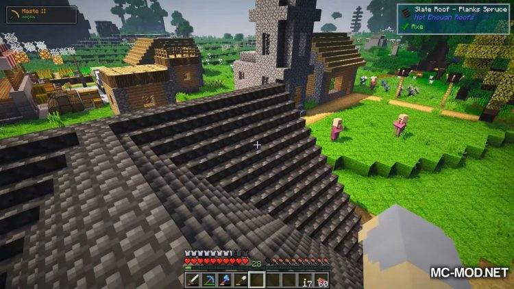 Not Enough Roofs Mod for minecraft 06