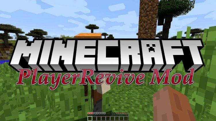 Player Revive mod for minecraft logo