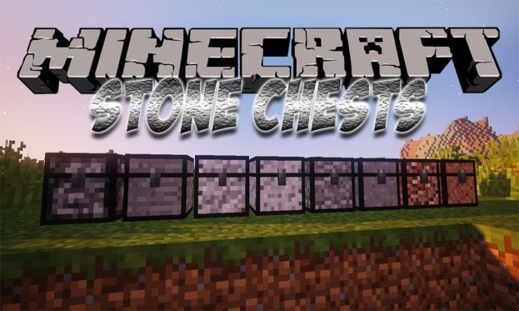 Stone Chests mod for Minecraft logo