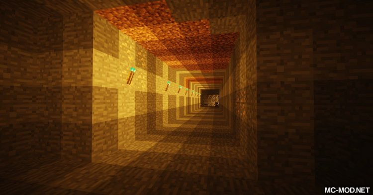 Sulfur Torches mod for Minecraft (2)