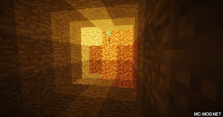 Sulfur Torches mod for Minecraft (4)