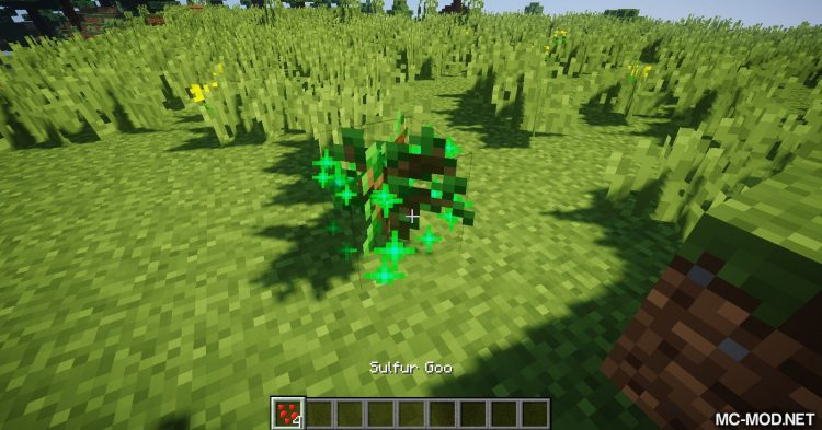 Sulfur Torches mod for Minecraft (8)
