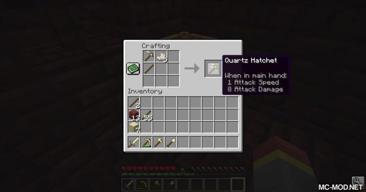 Survival Addtions mod for Minecraft (20)
