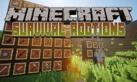 Survival Addtions mod for Minecraft logo