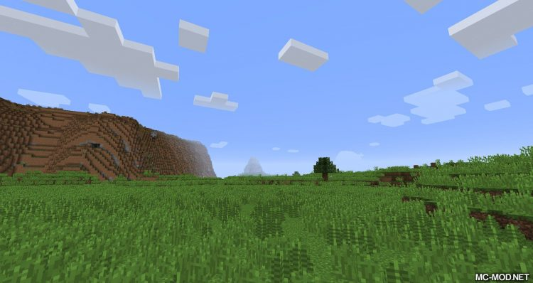 Terra mod for minecraft 01