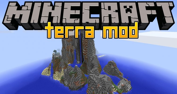 Terra mod for minecraft logo