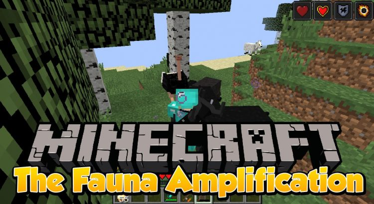 The Fauna Amplification mod for minecraft logo