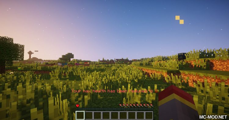 Unhealthy Dying mod for Minecraft (8)