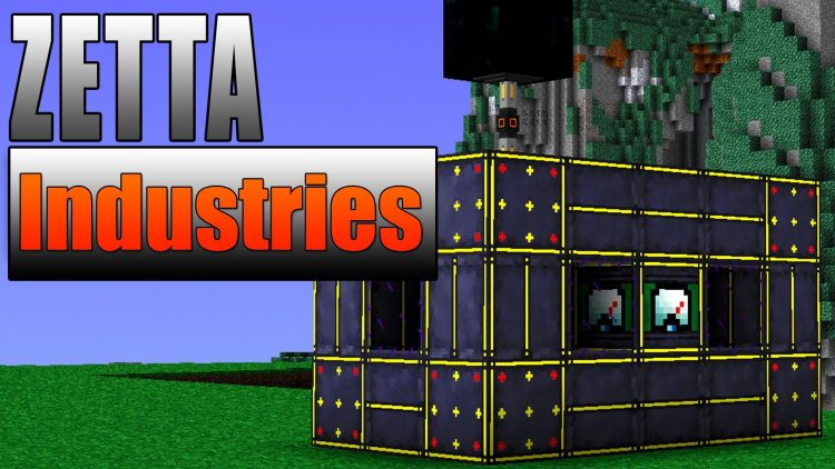 Zetta Industries mod for minecraft logo