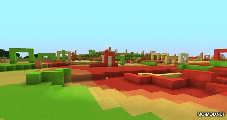 Candy World mod for minecraft 05