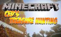 Ced_s Treasure Hunting mod for Minecraft logo