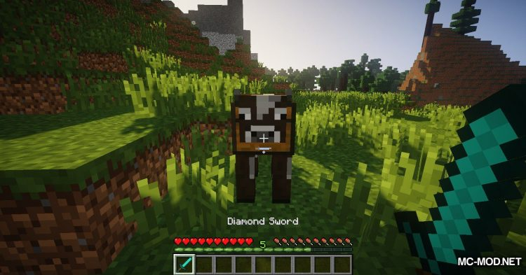Chest Cow mod for Minecraft (6)