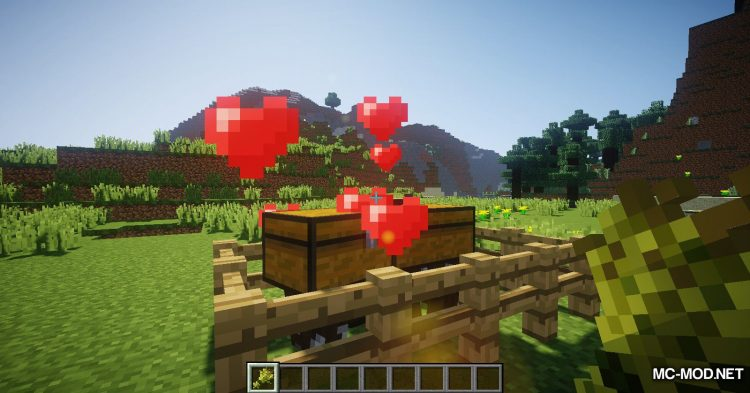 Chest Cow mod for Minecraft (9)