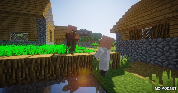 Following Villagers mod for Minecraft (1)