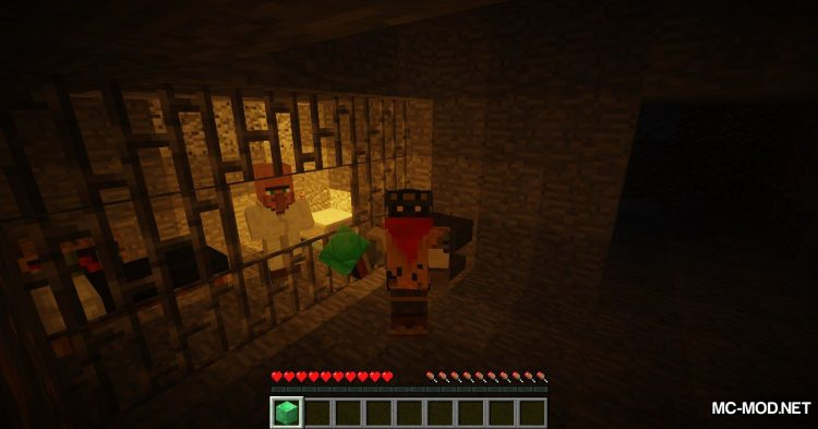 Following Villagers mod for Minecraft (10)