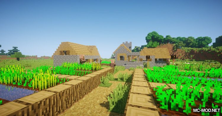 Following Villagers mod for Minecraft (2)