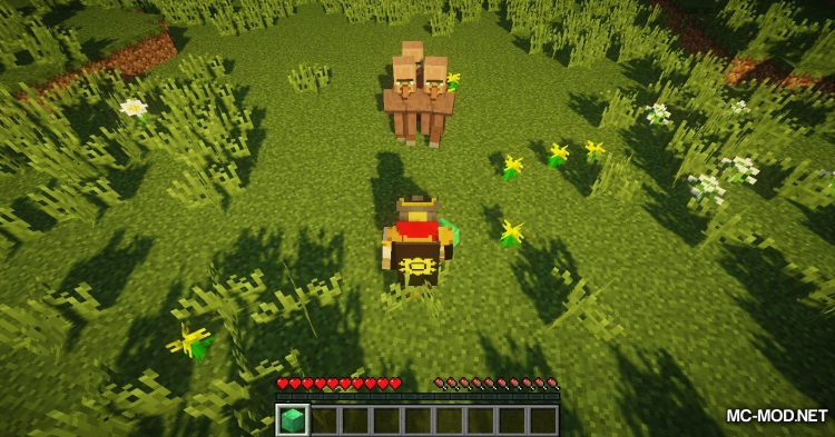 Following Villagers mod for Minecraft (6)