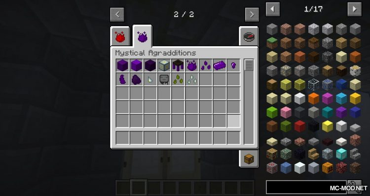 Mystical Agradditions mod for minecraft 01